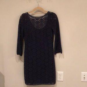 Navy Blue Lily Pulitzer dress